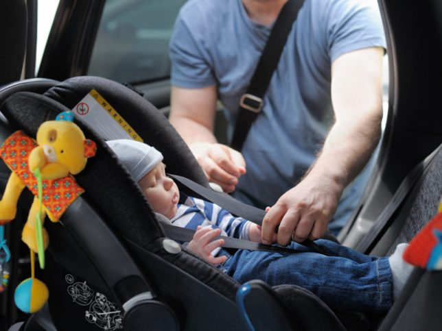 Vérification de sièges d'auto